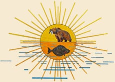 Raspberry Island Remote Lodge Logo